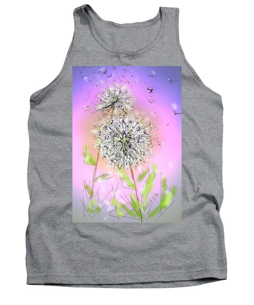 Tank Top featuring the digital art Ever So by Desline Vitto