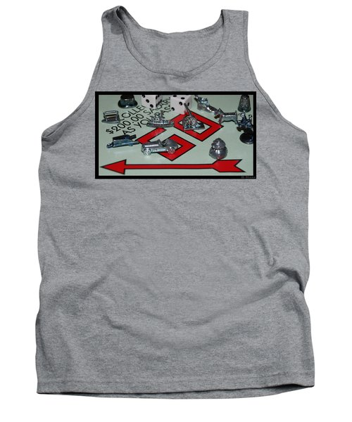 Everyone Pass Go Tank Top by Rob Hans