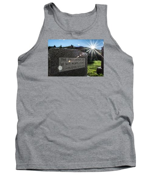Tank Top featuring the photograph Examined Life Color by Rhys Arithson