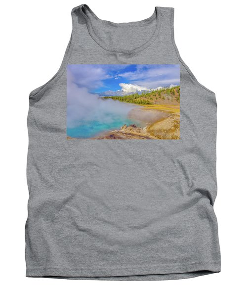 Excelsior Geyser Crater Yellowstone Tank Top
