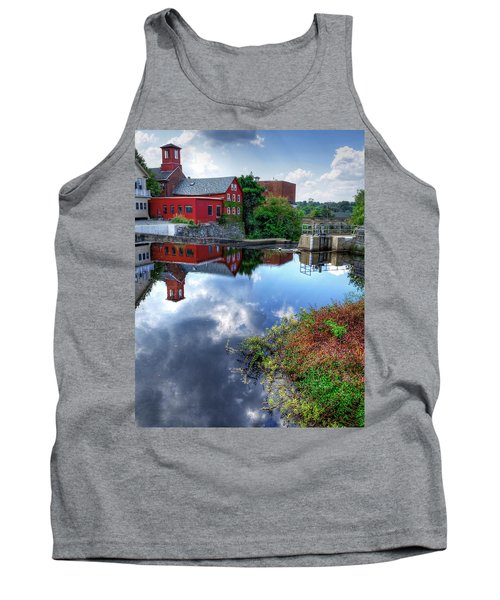 Exeter New Hampshire Tank Top by Rick Mosher