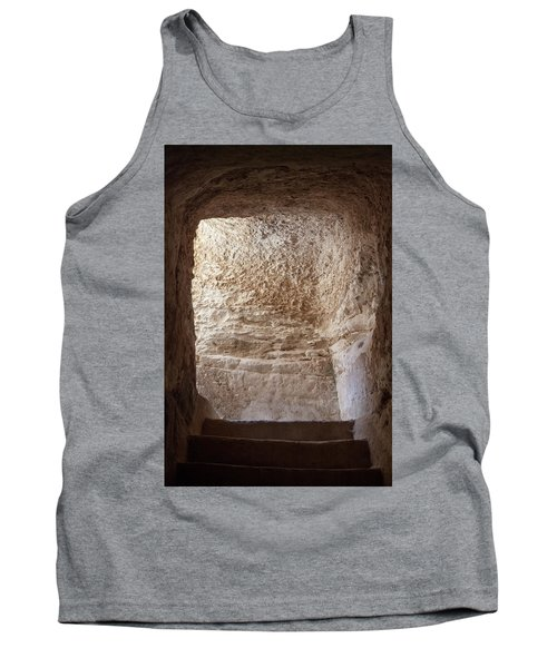 Exit To The Light Tank Top by Yoel Koskas