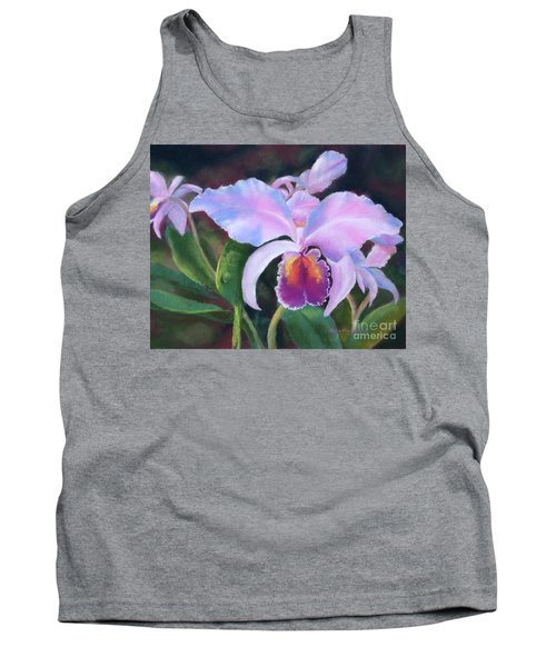 Exotic Pink Orchid Tank Top