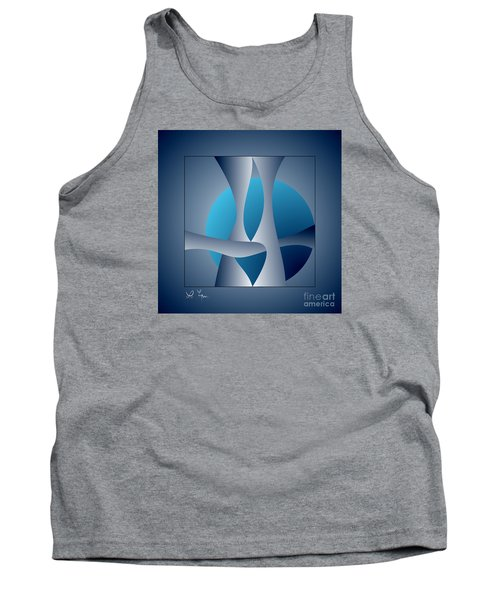 Expert Debate Tank Top by Leo Symon