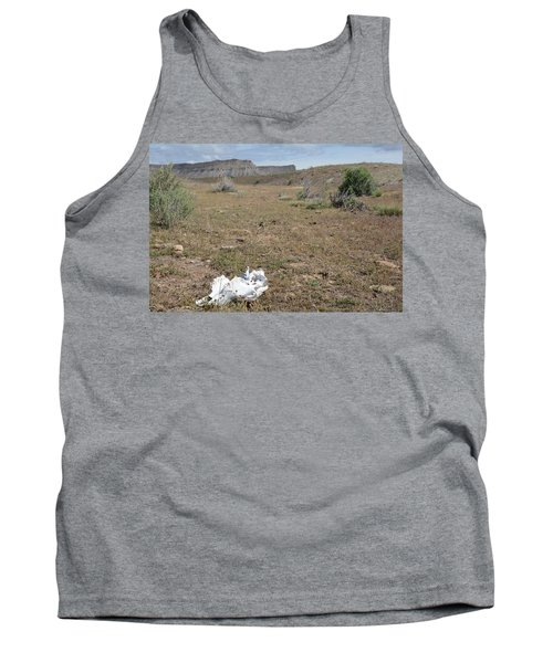 Tank Top featuring the photograph Expired by Jenessa Rahn