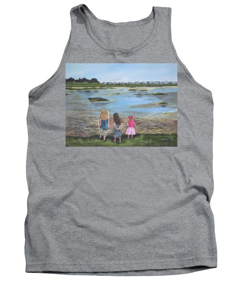Exploring The Marshes Tank Top