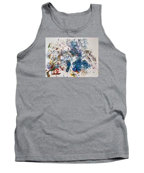 Explosion At The Macaroni Factory Tank Top