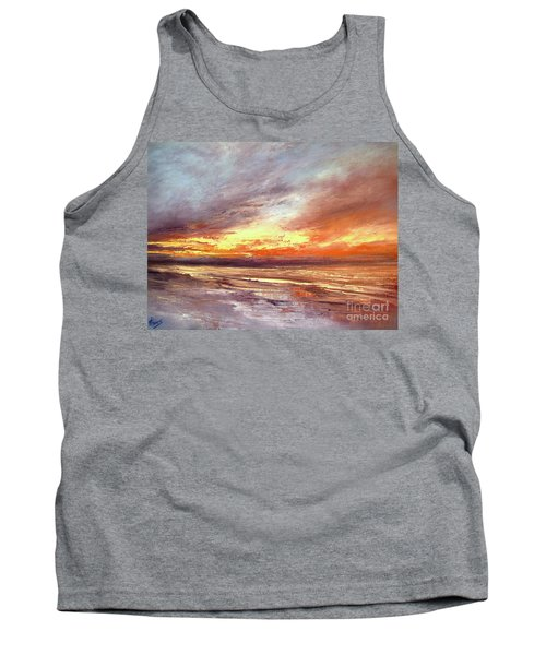 Explosion Of Light Tank Top by Valerie Travers