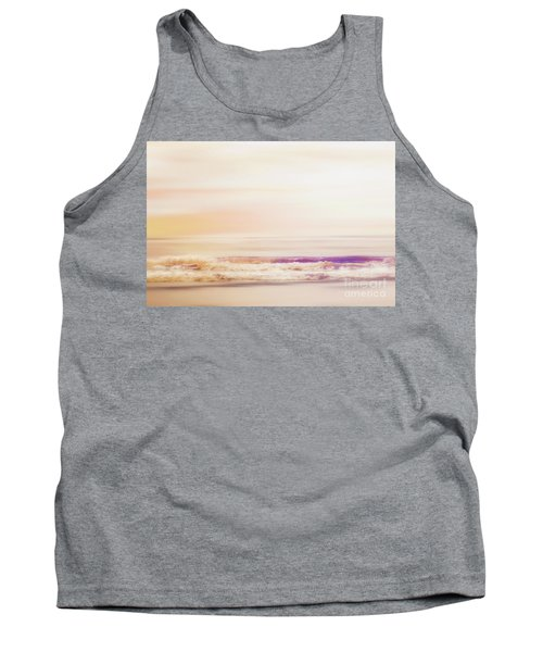 Expression - Dreams On The Shore Tank Top by Janie Johnson