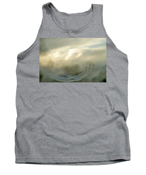 Tank Top featuring the photograph Eye In The Sky by Dubi Roman