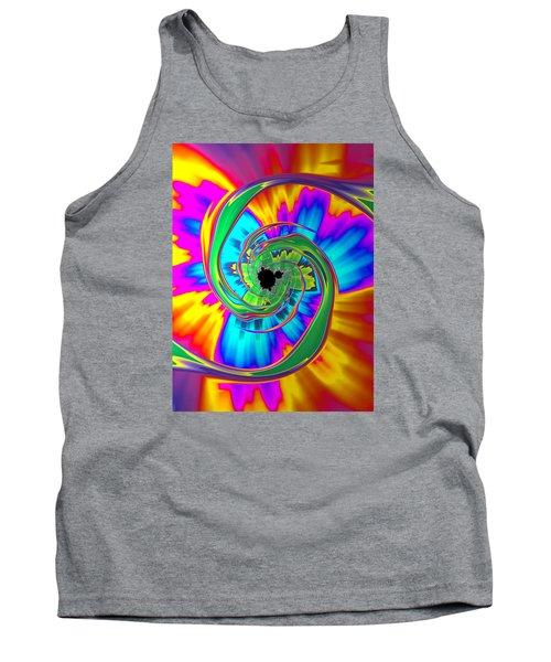 Tank Top featuring the photograph Eye Of The Rainbow by Ronda Broatch