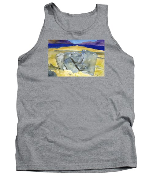 Faces Of The Rocks Tank Top
