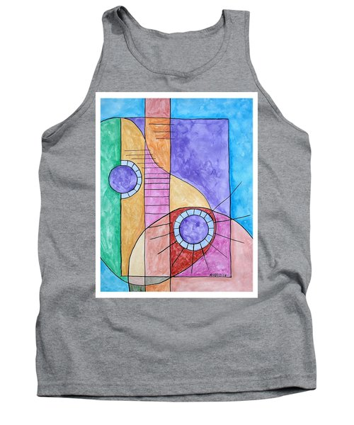 Fade Out Tank Top