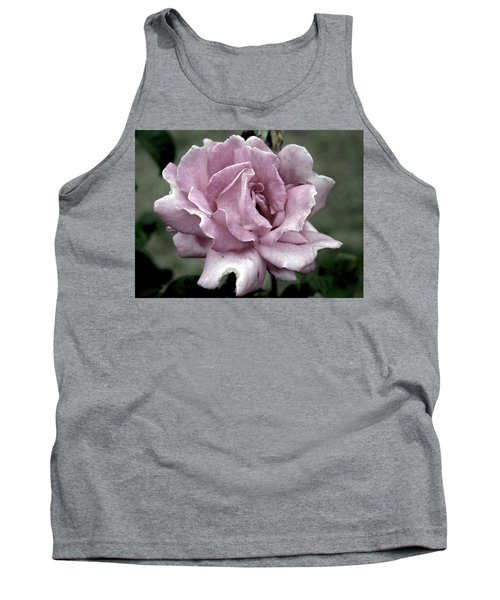 Faded Beauty Rose 0226 H_2 Tank Top