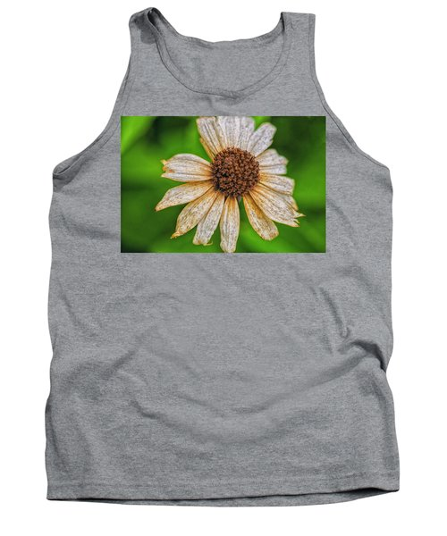 Faded Cone Flower Tank Top
