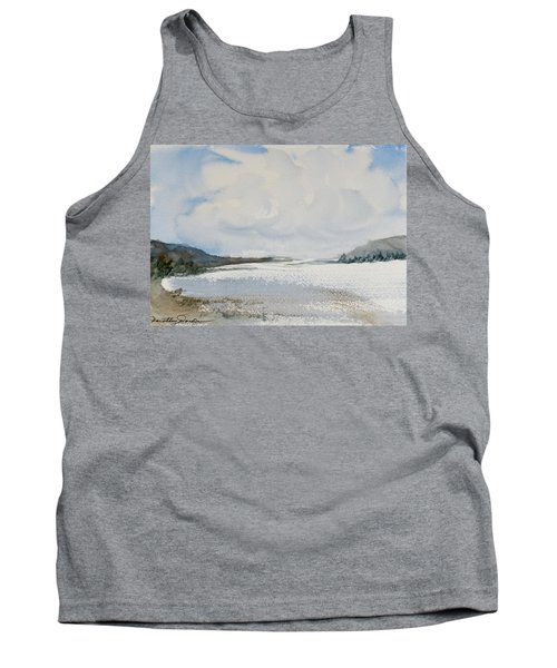Tank Top featuring the painting Fair Weather Or Foul? by Dorothy Darden