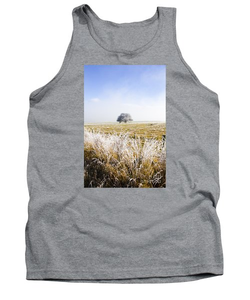 Tank Top featuring the photograph Fairytale Winter In Fingal by Jorgo Photography - Wall Art Gallery