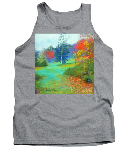 Fall Across The Field  Tank Top by Rae  Smith PAC