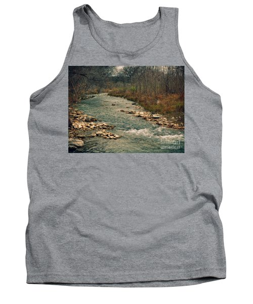 Fall Along The River Tank Top