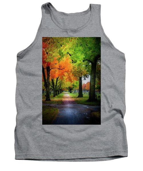 Fall Color Tank Top