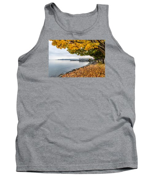 Fall Colors Framing Commencement Bay Tank Top