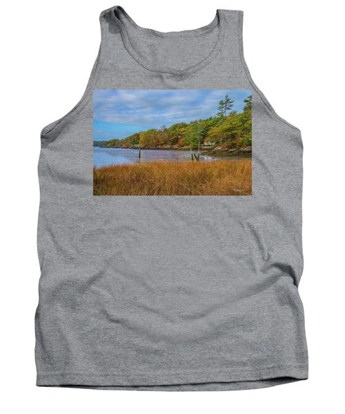 Fall Colors In Edgecomb Too Tank Top