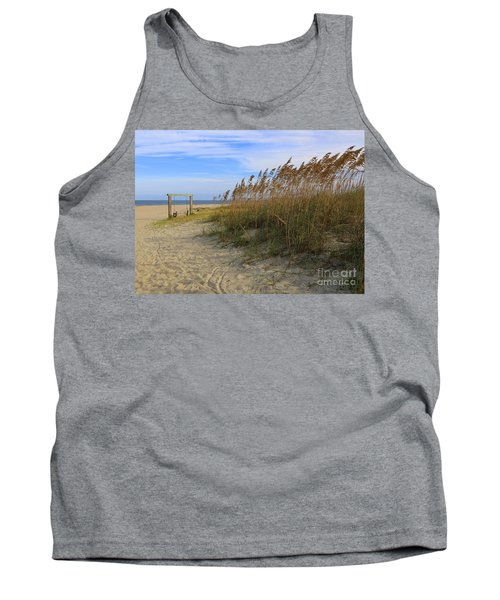 Fall Day On Tybee Island Tank Top