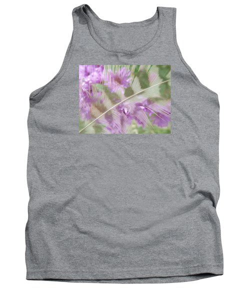 Fall Feather Tank Top