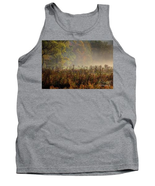 Tank Top featuring the photograph Fall In Cades Cove by Douglas Stucky