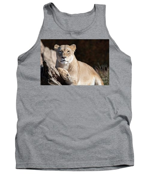 Fall Lioness Tank Top