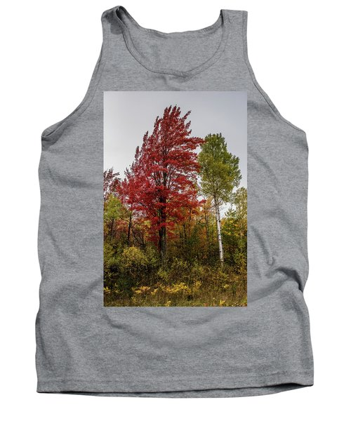 Tank Top featuring the photograph Fall Maple by Paul Freidlund