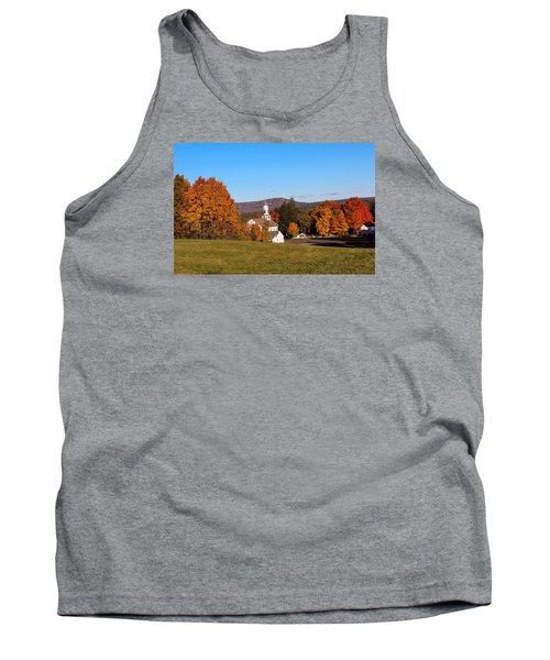 Fall Mountain View Tank Top