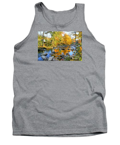 Fall Reflections In Jackson Tank Top