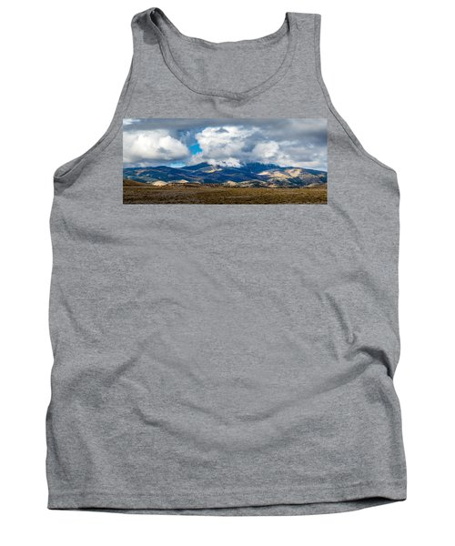 Fall Storm Clearing Off Pintada Mountain Tank Top by John Brink