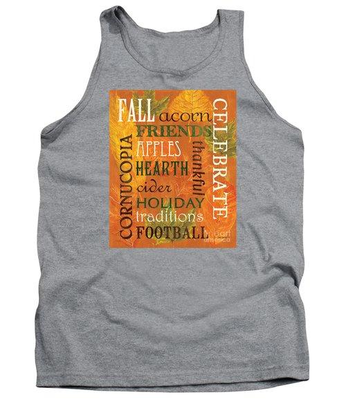Fall Typography 2 Tank Top