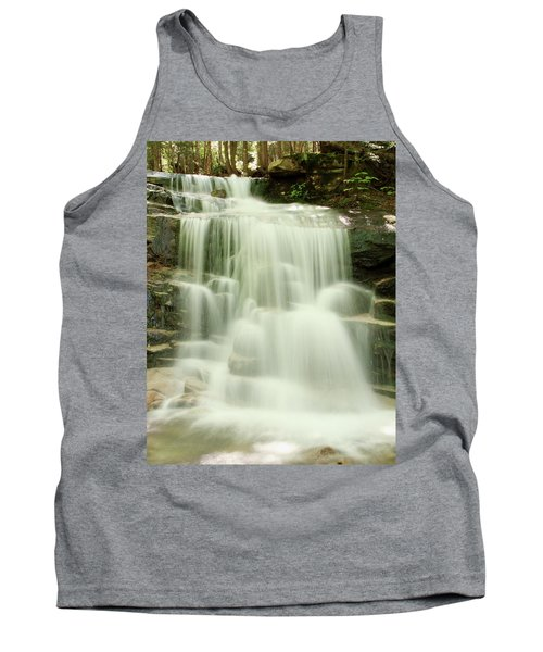 Tank Top featuring the photograph Falling Waters by Roupen  Baker