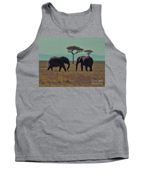 Tank Top featuring the photograph Family by Karen Lewis