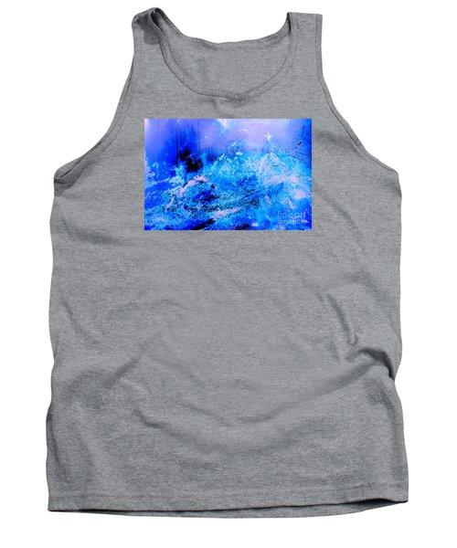 Fantasy Blue Artwork Tank Top
