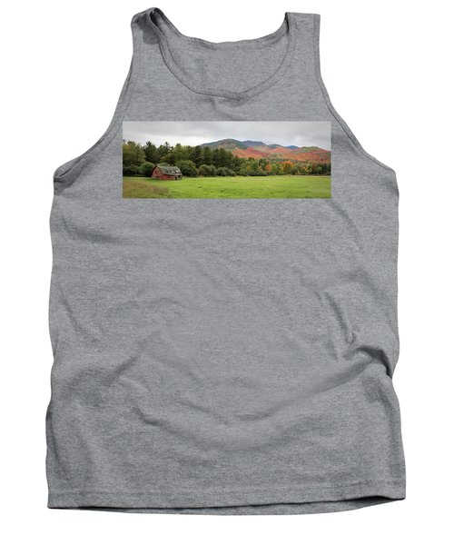 Farewell Red Barn Tank Top