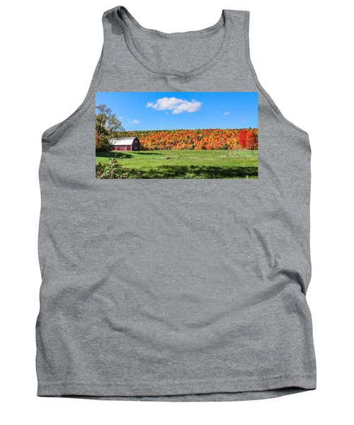 Farm View From Russellville Road Tank Top