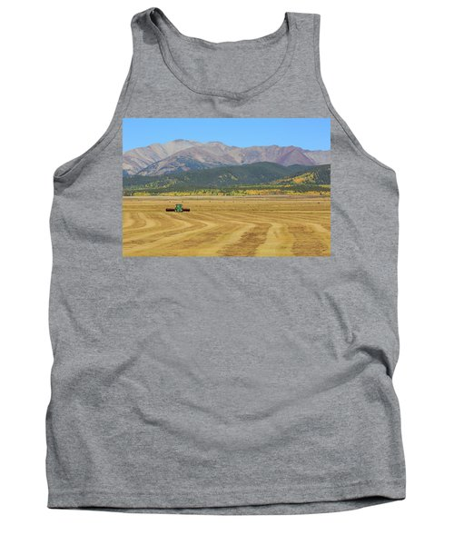 Tank Top featuring the photograph Farming In The Highlands by David Chandler