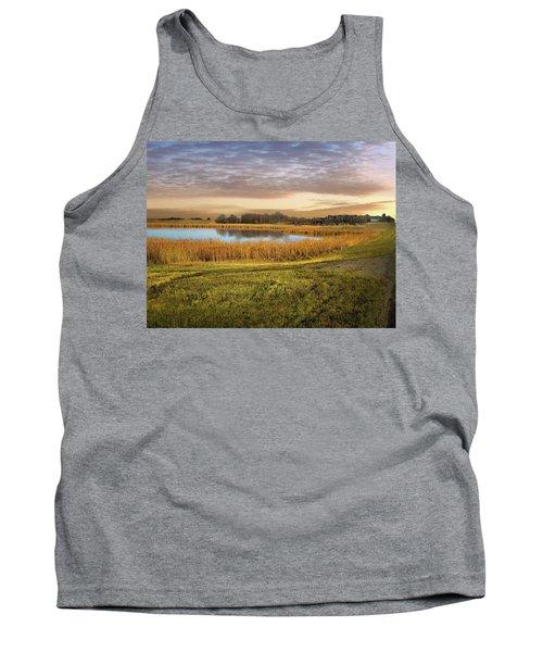 Farmland Pond Tank Top
