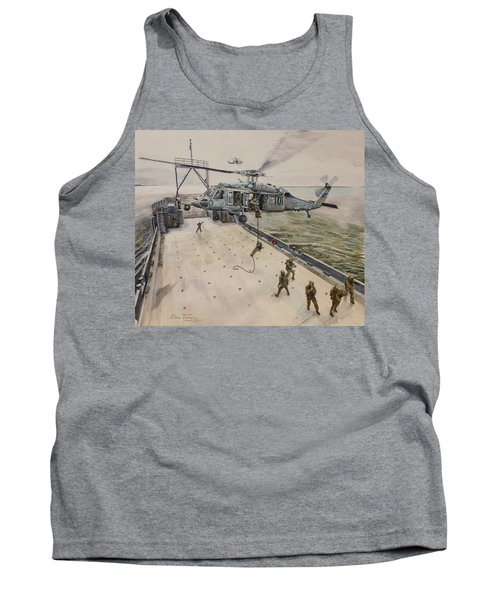 Fast Rope Tank Top by Stan Tenney