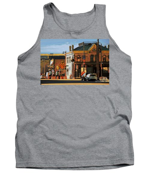 Fat Daddy's Tank Top by David Blank