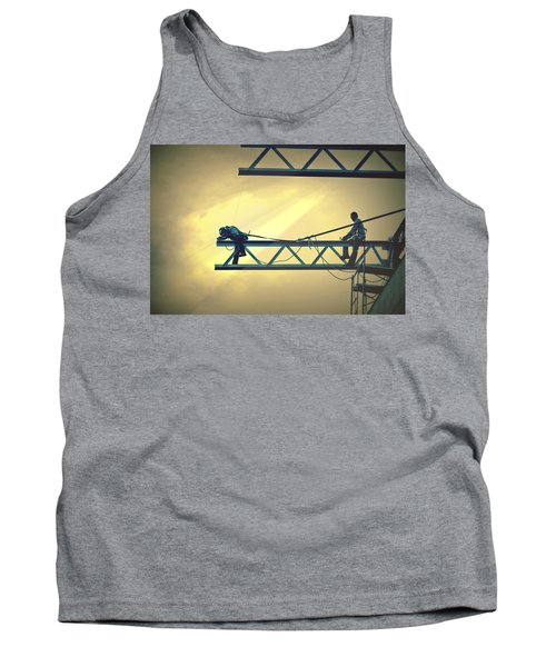 Fearless Sky Workers Tank Top