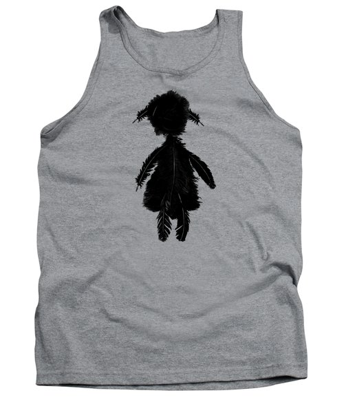 Feathergirl From Playing The Angel Tank Top