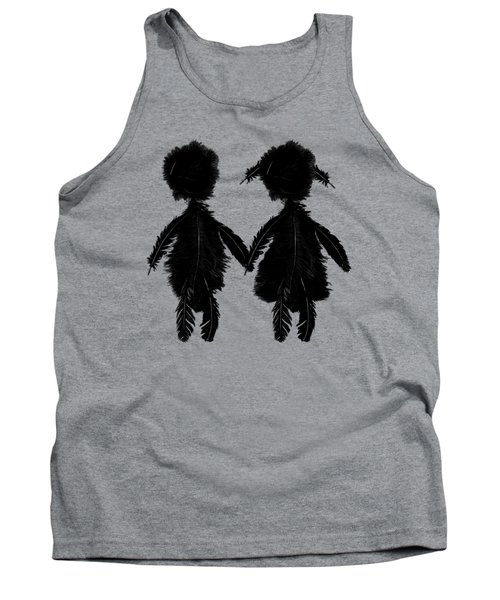 Featherman And Feathergirl From Playing The Angel Tank Top