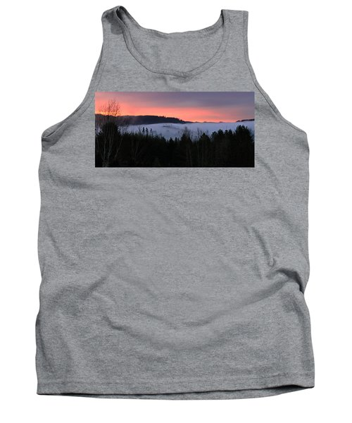 February Oregon Sunrise Tank Top