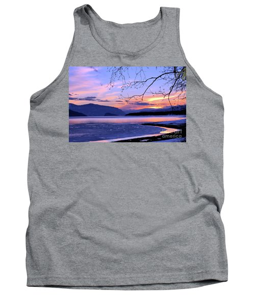 February Sunset 2 Tank Top by Victor K