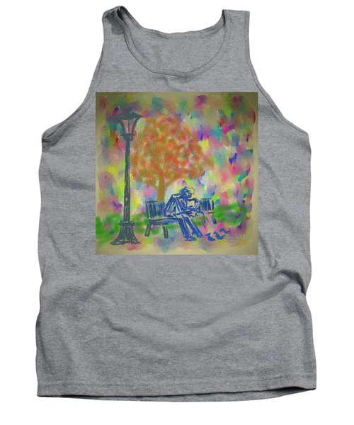 Feeding The Birds Tank Top by Kevin Caudill